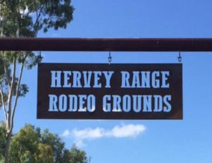 Hervey Range Sign